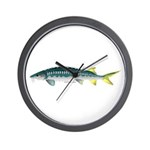 White Sturgeon fish Wall Clock