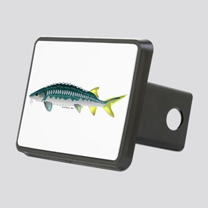 White Sturgeon fish Hitch Cover