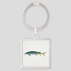 White Sturgeon fish Keychains