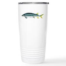 White Sturgeon fish Travel Mug