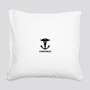 CORPSMAN Square Canvas Pillow