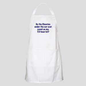 72-Hour Kit? BBQ Apron