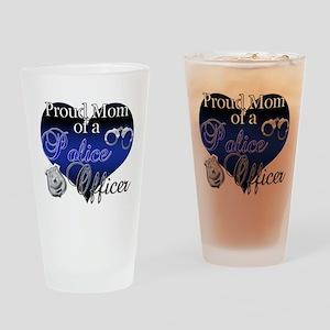 Police Mom Drinking Glass