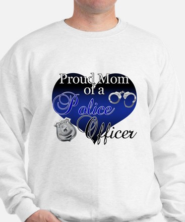Police Mom Sweatshirt