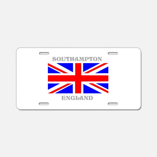 Southampton England Aluminum License Plate