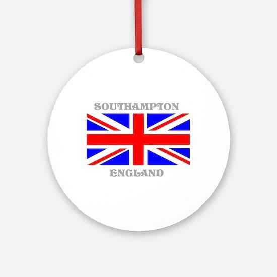 Southampton England Ornament (Round)