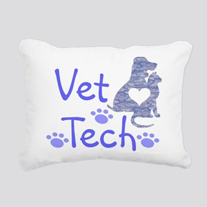 Vet Tech #110 Rectangular Canvas Pillow