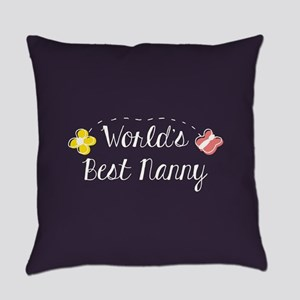 World's Best Nanny Everyday Pillow