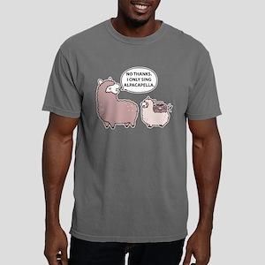 Alpacapella Mens Comfort Colors Shirt