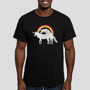 Unicorns Making Love Under The Rainbow T-Shirt