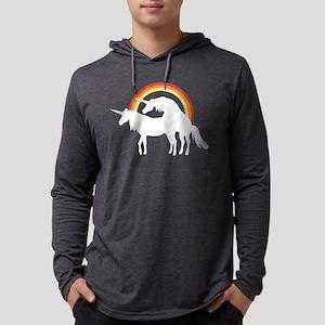Unicorns Making Love Under The R Mens Hooded Shirt