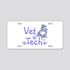 Vet Tech #110 Aluminum License Plate