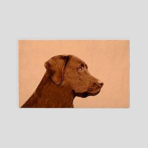 Labrador Retriever (Chocolate) Area Rug
