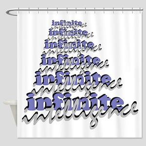 Infinite-Intelligence Shower Curtain