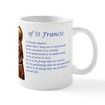 Saint Francis Prayer Wraparound Mug