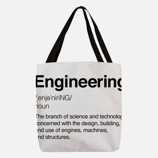 Engineering Definition Polyester Tote Bag