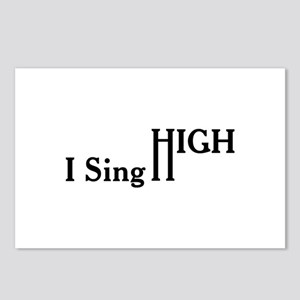 I Sing High Postcards (Package of 8)