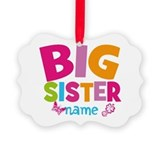 Big sister Picture Frame Ornaments