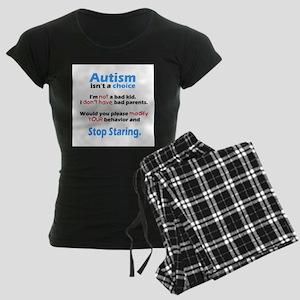 Autism isn't a choice Women's Dark Pajamas