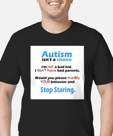 Autism isn't a choice Men's Fitted T-Shirt (dark)