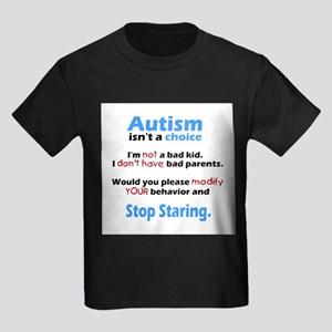 Autism isn't a choice Kids Dark T-Shirt