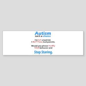 Autism isn't a choice Sticker (Bumper)