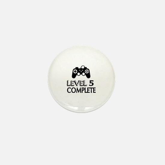 Level 05 Complete Birthday Designs Mini Button