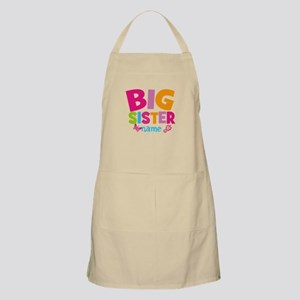 Personalized Name - Big Sister Apron