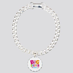 Personalized Name - Big Sister Charm Bracelet, One