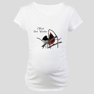 Official Bird Watcher Maternity T-Shirt