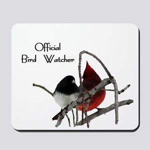 Official Bird Watcher Mousepad