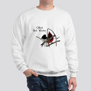 Official Bird Watcher Sweatshirt
