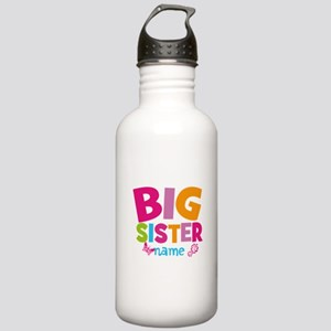 Personalized Name - Big Sister Sports Water Bottle