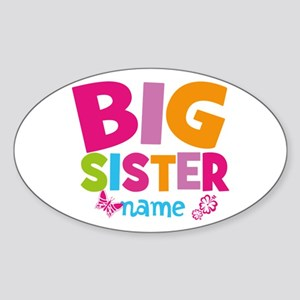 Personalized Name - Big Sister Sticker