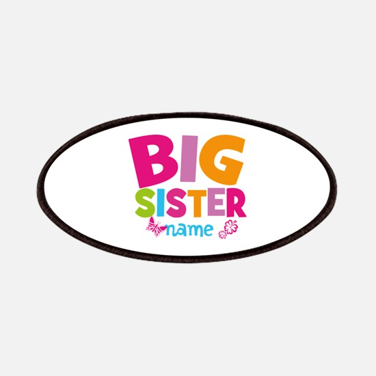 Personalized Name - Big Sister Patches