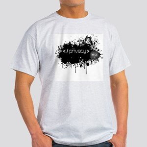 End of Privacy Light T-Shirt