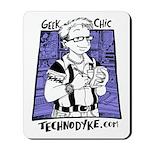 Mousepad - Geek Chic - $5 Donation