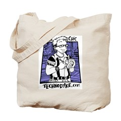 Tote Bag - Geek Chic - $5 Donation
