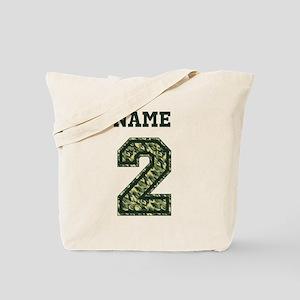 Personalized Camo 2 Tote Bag