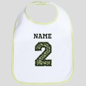 Personalized Camo 2 Bib