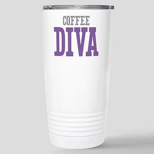 Coffee DIVA Stainless Steel Travel Mug