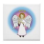 I-Love-You Angel Tile Coaster