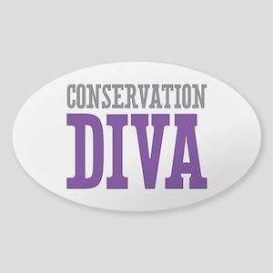 Conservation DIVA Sticker (Oval)