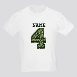 Personalized Camo 4 T-Shirt