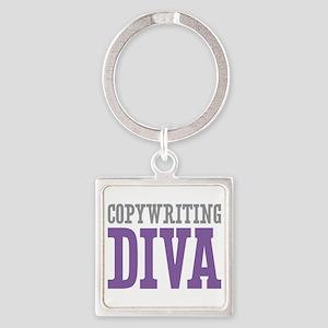 Copywriting DIVA Square Keychain