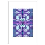'Virtual Violets' Large Poster