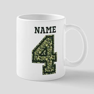 Personalized Camo 4 Mug
