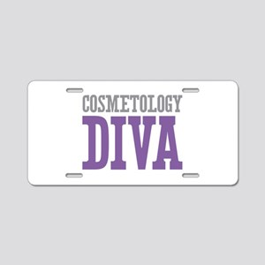 Cosmetology DIVA Aluminum License Plate