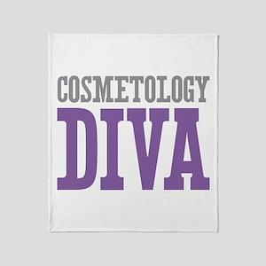 Cosmetology DIVA Throw Blanket