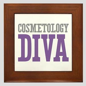 Cosmetology DIVA Framed Tile